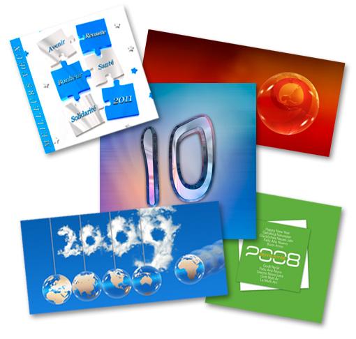 Photosud : de nombreux graphismes à portée de clic pour vos cartes de vœux pro…
