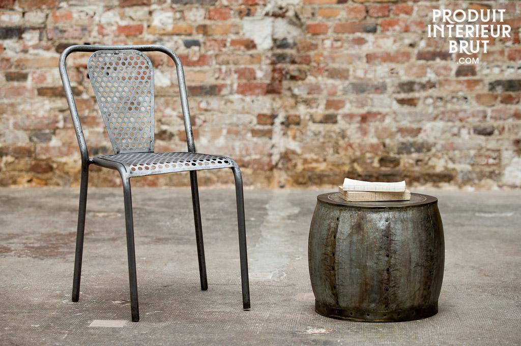 Un tabouret de style industriel vintage – P.I.B.