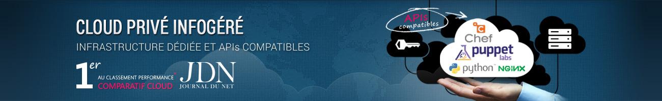 Ikoula est en tête de la qualité de service cloud privé