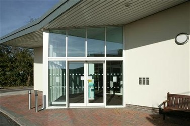 Bridgnorth Hospital boasts a clean, modern design
