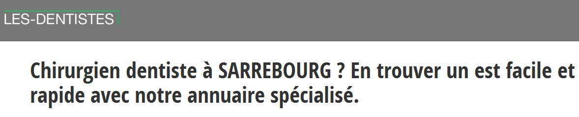 Les coordonnées des dentistes à Strasbourg sont à retrouver sur les-dentistes.org